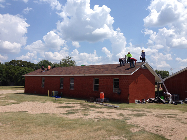 Commercial First Baptist Church Cen Tex Roof Systems